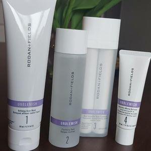 R&F Unblemish Skin care Regimen